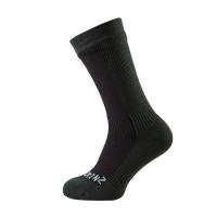 Носки SEALSKINZ Hiking Mid Mid Sock цвет Black / Racing Green