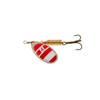 Блесна вращающаяся NORSTREAM Aero Spinner № 0 2,5 г цв. silver / red / white