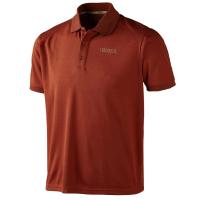 Рубашка HARKILA Gerit Polo Shirt цвет Burnt Orange