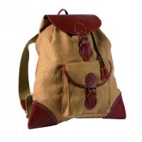 Рюкзак RISERVA 6006 тирольский лен/кожа 13 литров