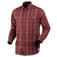 Рубашка SEELAND Gibson Shirt цвет Russet brown check