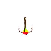 Крючок тройной LUCKY JOHN с каплей код цв. Y № 8 (10 шт.)