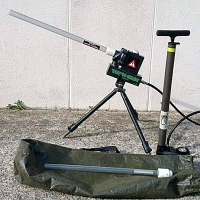 Пневмо-Пушка TECHNIPECHE TECH GUN цв. зеленый