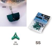 Защита для крючка MEIHO Versus VS-50 SS with Header (10 шт.) цв. зеленый