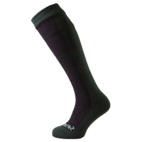Носки SEALSKINZ Hiking Mid Knee Sock цвет Black / Racing Green