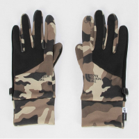 Перчатки THE NORTH FACE Women's Denali Etip Glove цвет Burnt Olive Green Woods Camo