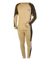 Комплект термобелья NORFIN Comfort Line цвет бежевый/ черный