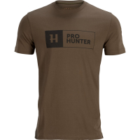 Футболка HARKILA Pro Hunter S/S цвет Slate brown