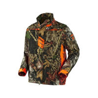 Куртка HARKILA Pro Hunter Dog Keeper Jacket цвет Mossy Oak New Break-Up / Orange Blaze