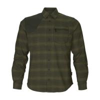Рубашка SEELAND Terrain Shirt цвет Pine green check