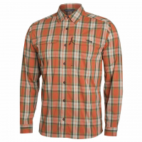 Рубашка SITKA Globetrotter Shirt LS цвет Canyon Plaid