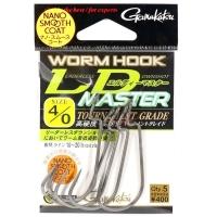 Крючок офсетный GAMAKATSU Worm Hook LD Master NSC № 3/0 (5 шт.)