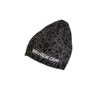 Шапка SAVAGE GEAR Knit Geometry Beanie цв. Черный
