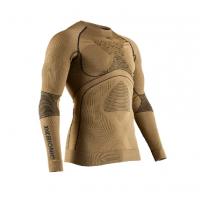 Термофутболка X-BIONIC Radiactor 4.0 Shirt Round Neck Lg Sl Men цвет Золотой / Черный