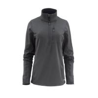 Пуловер SIMMS Women's Fleece Midlayer 1/2 Zip цвет Raven