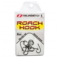 Крючок одинарный TSURIBITO Roach Hook BN № 4 (10 шт.)