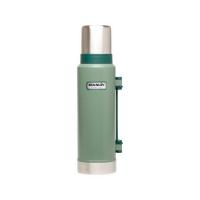 Термос STANLEY Classic Vacuum Bottle Hertiage (тепло 28 ч/ холод 28 ч) 1,3 л цв. Зеленый