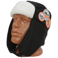 Шапка-ушанка ADRENALIN REPUBLIC Helmet цв. Черный