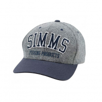 Шапка SIMMS Wool Varsity Cap цв. Charcoal
