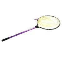 Подсачек KAHARA Rubber Landing Net для форели обруч D-45 см, гл. 30 см, рукоять 70 см фиолетовая