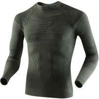 Термофутболка X-BIONIC Hunting Man Uw Shirt Long Sleeve цвет Серо-зеленый / Антрацит