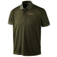 Рубашка HARKILA Gerit Polo Shirt цвет Dark Olive