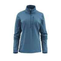Пуловер SIMMS Women's Fleece Midlayer 1/2 Zip цвет Teal