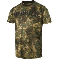 Футболка HARKILA Lynx SS T-shirt цвет AXIS MSP Forest Green