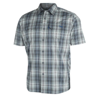 Рубашка SITKA Globetrotter Shirt SS цвет Shadow Plaid