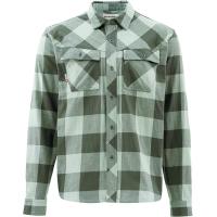 Рубашка SIMMS Heavy Weight Flannel цвет Boulder Plaid