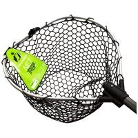 Подсачек TSURIBITO Net Trap Fold с прорезиненной сеткой складной 170 см д. 70 х 60 см