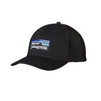 Кепка PATAGONIA P-6 Logo Trucker Hat цв. Black
