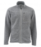 Куртка SIMMS Rivershed Sweater Full Zip цвет smoke