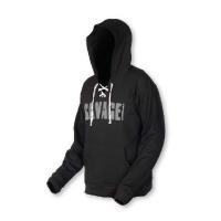 Толстовка SAVAGE GEAR Simply Savage Hoodie Pullover цвет черный