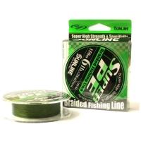 Плетенка SUNLINE New Super PE 150 м 0.8 цв. dark green