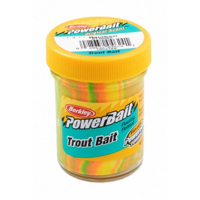Паста форелевая BERKLEY PowerBait Biodegradable TroutBait цв. радуга