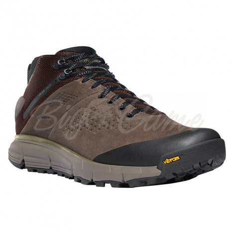 "Ботинки треккинговые DANNER Trail 2650 Mid 4"" GTX цвет Brown / Military Green фото 1"
