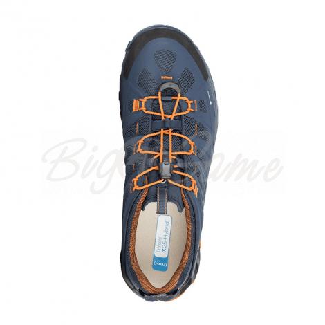 Ботинки треккинговые AKU Selvatica GTX цвет Blue / Orange фото 3