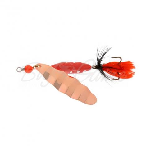 Блесна вращающаяся NORSTREAM Marble Fly № 2 7 г цв. cooper black / orange fly N-AB2-KOR фото 1