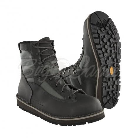 Ботинки забродные PATAGONIA Foot Tractor Wading Boots-Sticky Rubber цвет серый фото 1