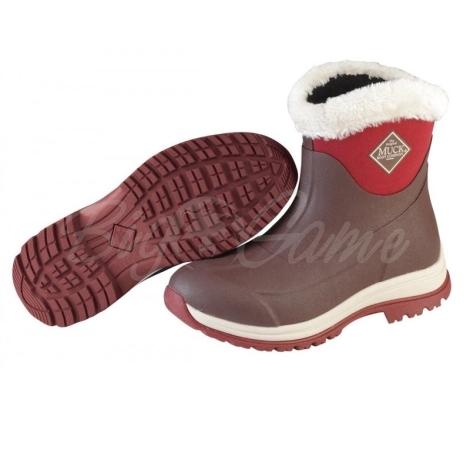 Сапоги MUCKBOOT Arctic Apres цвет коричневый/красный фото 1