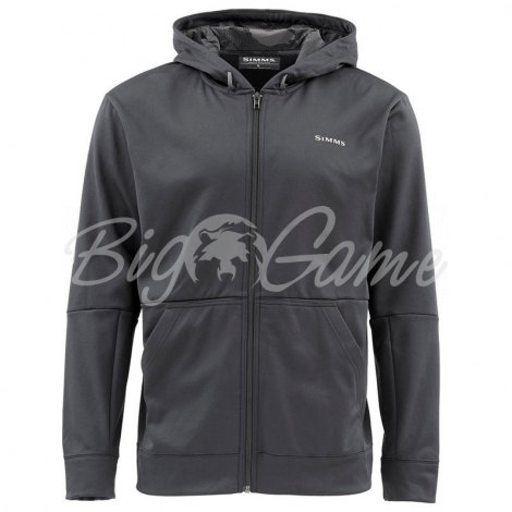 Толстовка SIMMS Challenger Hoody - Full Zip цвет Black фото 1