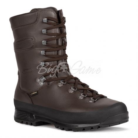 Ботинки охотничьи AKU Grizzly Wide GTX цвет brown 907.3-050-8 фото 1