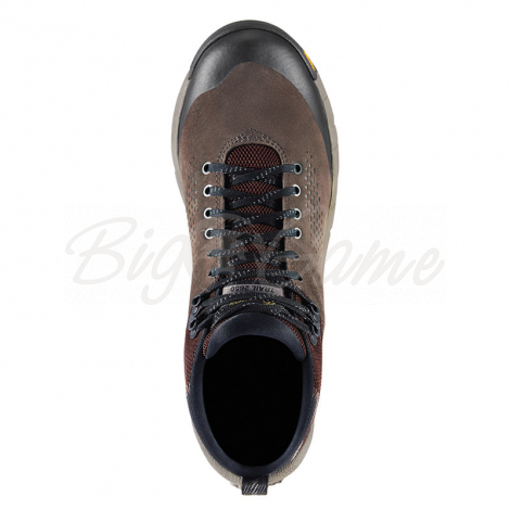 "Ботинки треккинговые DANNER Trail 2650 Mid 4"" GTX цвет Brown / Military Green фото 3"