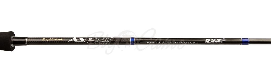 Удилище спиннинговое GRAPHITELEADER Aspro 742M тест 6 - 24 г GAPS-742M фото 3