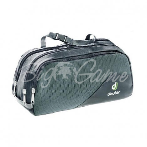 Несессер  DEUTER 2021 Wash Bag Tour III цв. Black / Granite 39444_7410 фото 1