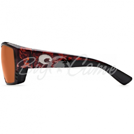 Очки COSTA DEL MAR Tuna Alley Readers 580 P +2.00 р. L цв. Matte Black цв. ст. Copper Mate фото 3