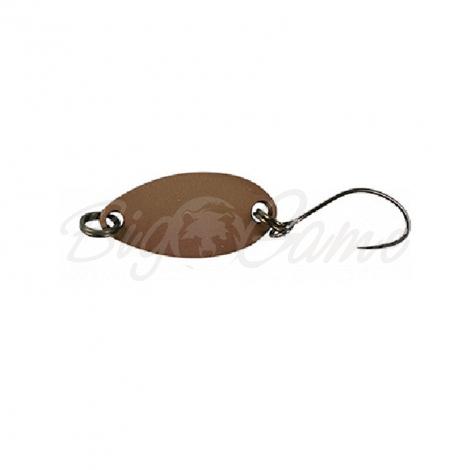 Блесна колеблющаяся JACKALL TIMON Nibble 1,5 г цв. dark brown фото 1