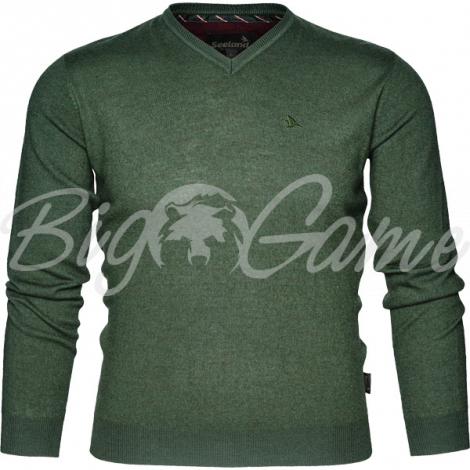 Пуловер SEELAND Compton Pullover цвет Pine green фото 1