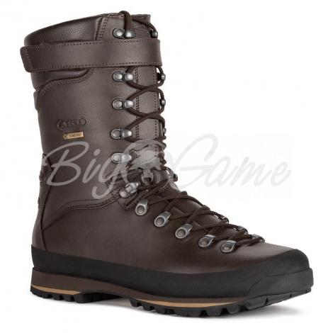 Ботинки охотничьи AKU Grizzly Wide GTX цвет Brown фото 1